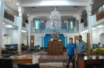 Iran's Jews: Inside a synagogue in Esfahan.